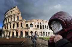 Virus spread in new museum accelerates, Italy is at