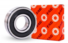 What should be considered for the clearance selection of FAG bearings